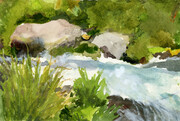 Spring Creek -- SOLD -- (Prints Available)